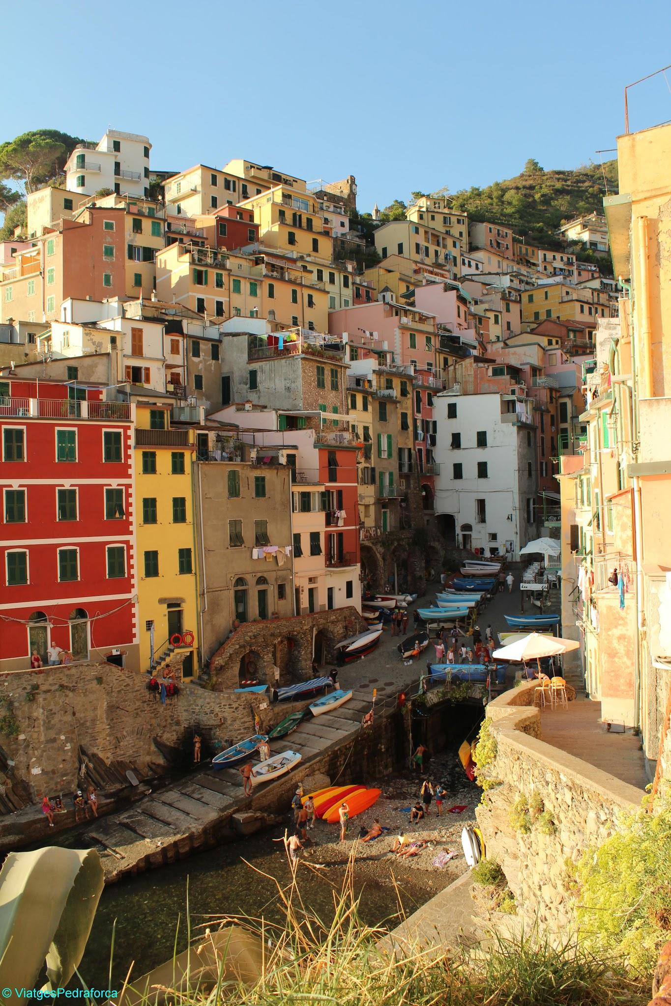 Riomaggiore, Cinque Terre, Italia, Unesco World Heritage, Patrimoni de la Humanitat, Sentiero azzurro