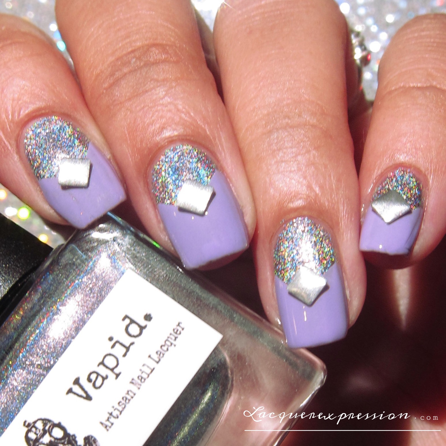 Mainstream swatch and review swarovski trends nail art crystals original nail art design featuring square swarovski nail crystals ride or die by vapid prinsesfo Images