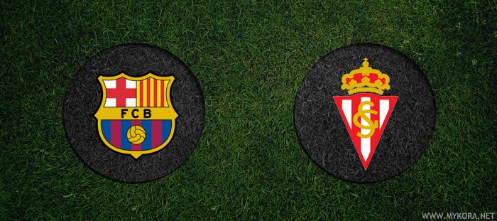 مشاهدة مباراة برشلونة وسبتورتينج خيخون بث مباشر اليوم 24-9-2016 الدوري الاسباني اون لاين