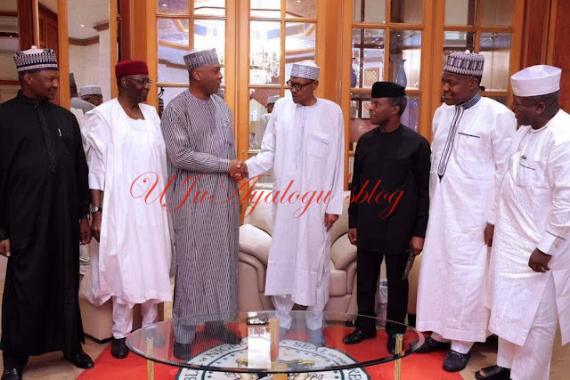 'How Saraki arranged recent meeting with Buhari over health status'