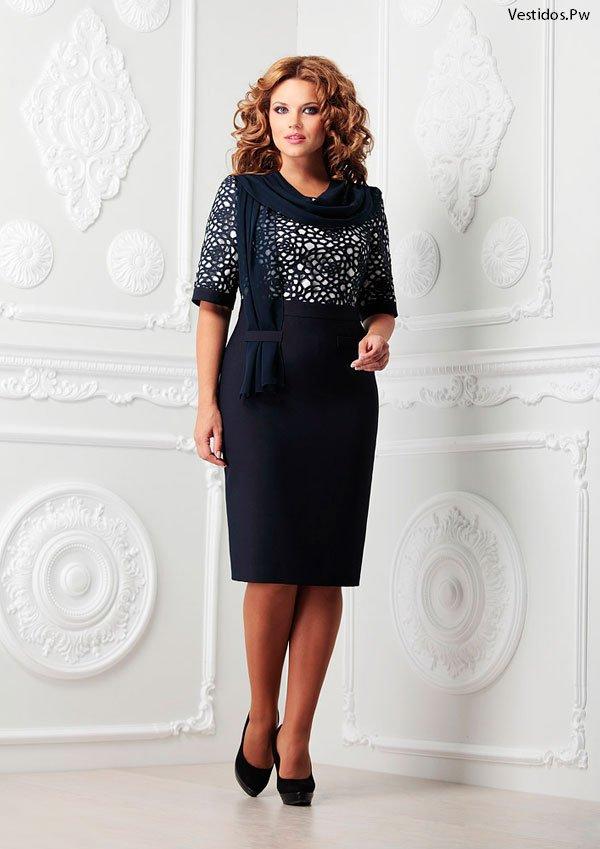fba886eeff26 62 Propuestas de Vestidos para Señoras ¡CATALOGO EN LINEA ...