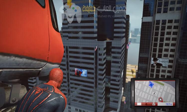 تحميل لعبة سبايدر مان الجديدة Spider Man