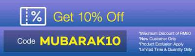 Lazada Voucher Code 10% Discount Promo