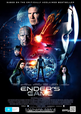 Poster oficial Ender's Game