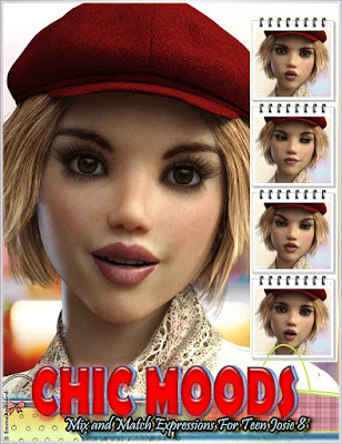 https://www.daz3d.com/chic-moods-mix-and-match-expressions-for-teen-josie-8-and-genesis-8-female-s