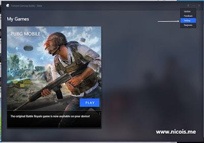Cara Setting emulator Tencent Gaming Buddy supaya tidak lag