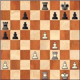 Posición de la partida de ajedrez Arribas-Grau