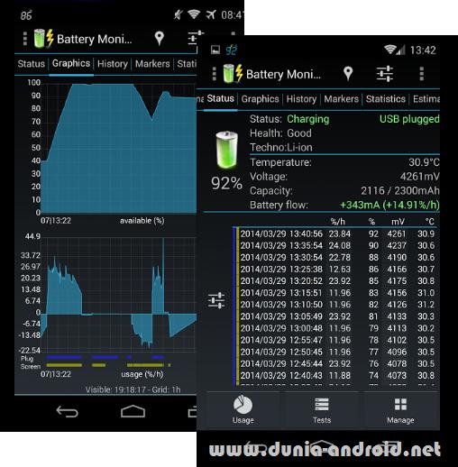 Download 3C Battery Monitor Widget Pro Apk