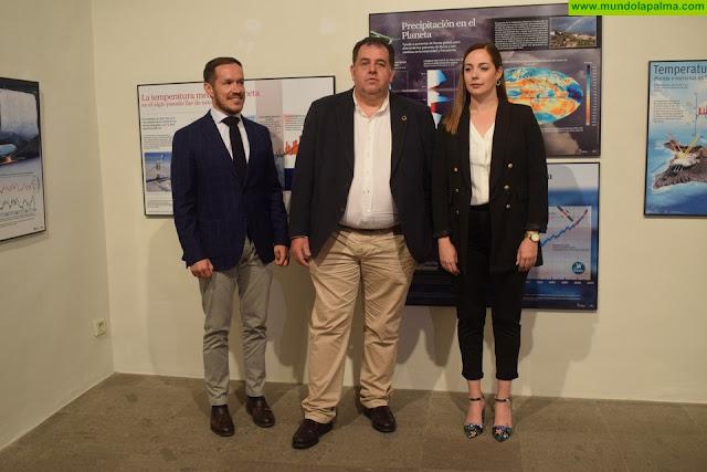Transición Ecológica inaugura en La Palma la exposición 'Cambio climático en Canarias'