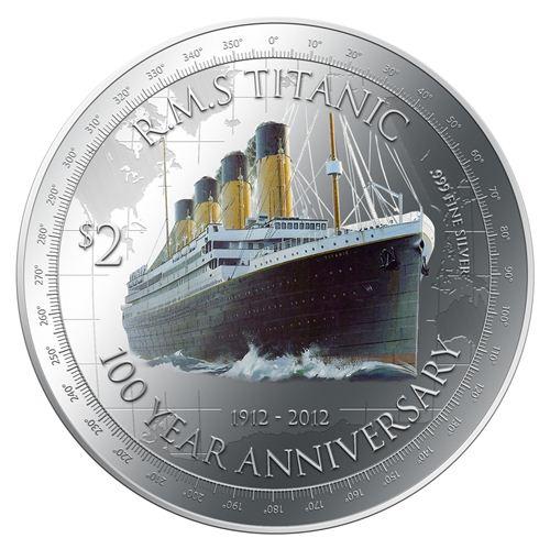 Titanic 100th Anniversary Silver Coin Lunaticg Coin