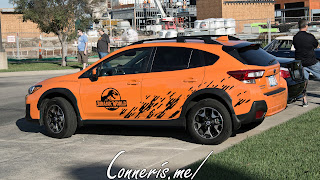 Jurassic World Subaru Crosstrek