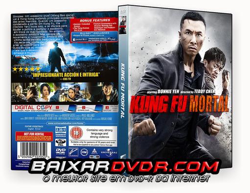 KUNG FU MORTAL (2015) DUAL AUDIO DVD-R AUTORADO