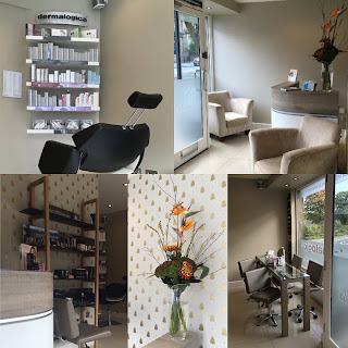 ilkley beauty clinic, caci, dermalogica, bare minerals, spa, grey interior, nail bar