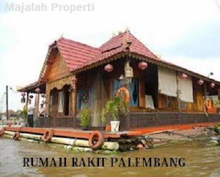 Desain Bentuk Rumah Adat Rakit dan Penjelasannya, Rumah Adat Indonesia