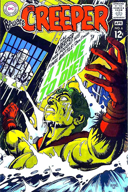 Beware the Creeper v1 #6 dc comic book cover art by Gil Kane