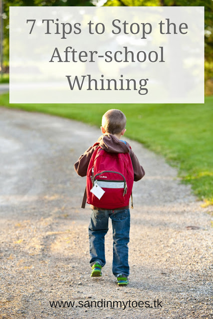 Seven things you can do to deal with after-school meltdowns or whining.