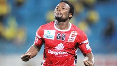 cầu thủ Oseni Bolaji chính thức gia nhập vào Đồng Tâm Long An