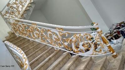 raling tangga untuk rumah mewah