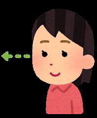 五感のイラスト(視覚・女性)