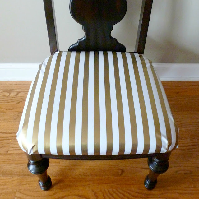 Recover Dining Room Chairs: How To Reupholster Dining Chairs In Oilcloth
