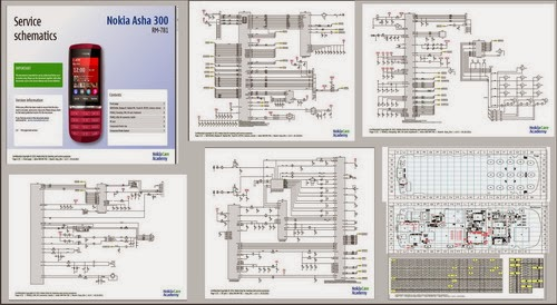 Schematic Nokia Free Download  Repairs Ponsel