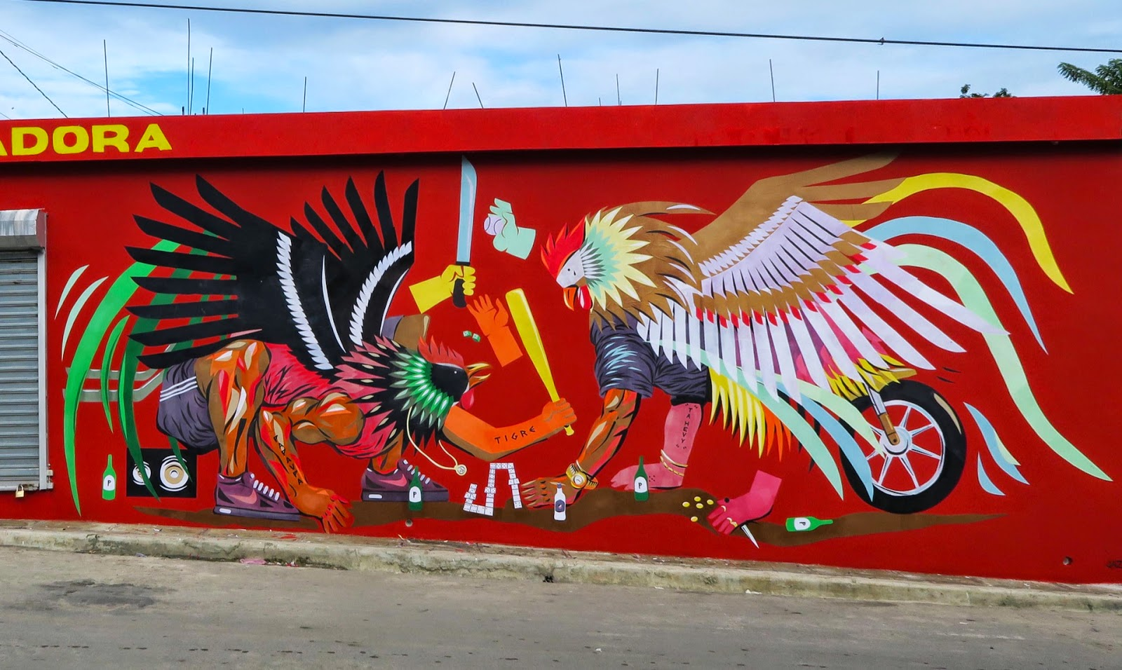 While we last heard from him in Miami for Art Basel 2014, JAZ is now in the Caribbean where he was invited by the ArteSano Street Art Festival organized by Evoca1 and Inoperable.