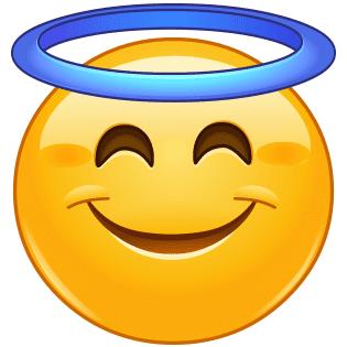 Angelic emoji