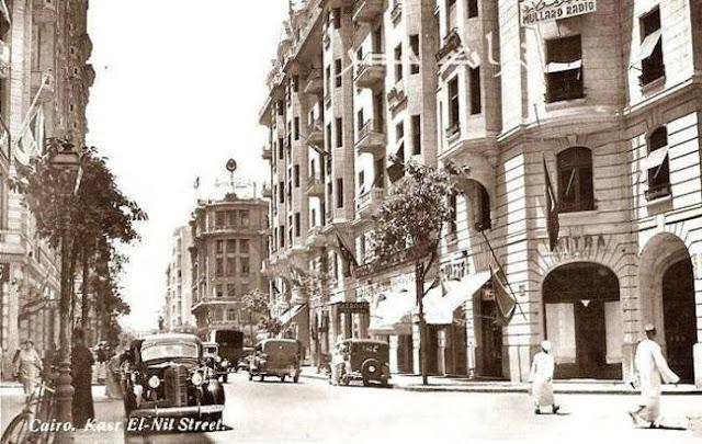 شارع قصر النيل فى الثلاثينات Kasr El-Nil Street