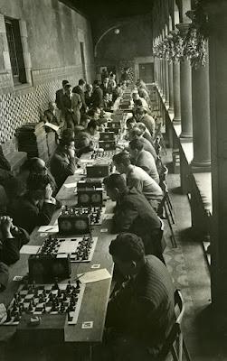 I Festa Catalana dels Escacs, Barcelona 1954