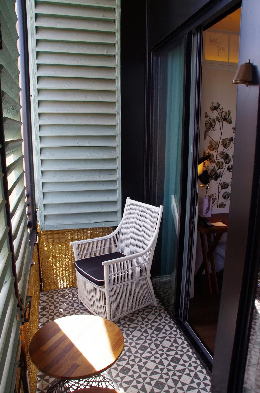 Cotton House Hotel Barcelona Cotton Room Balcony