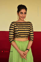 Actress Regina Candra Latest Pos in Green Long Skirt at Nakshatram Movie Teaser Launch  0144.JPG