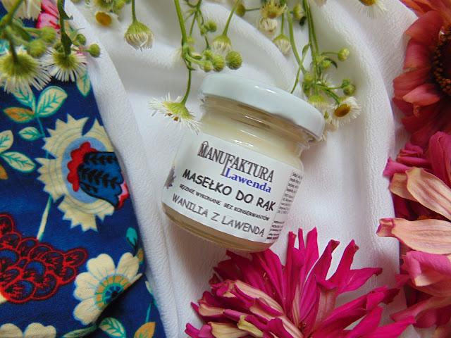 Manufaktura Lawenda - Masełko do rąk, mgiełki do pościeli i mus mydlany z olejami