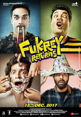 Fukrey Returns 2017 Hindi WEB-DL 480p 200Mb HEVC x265