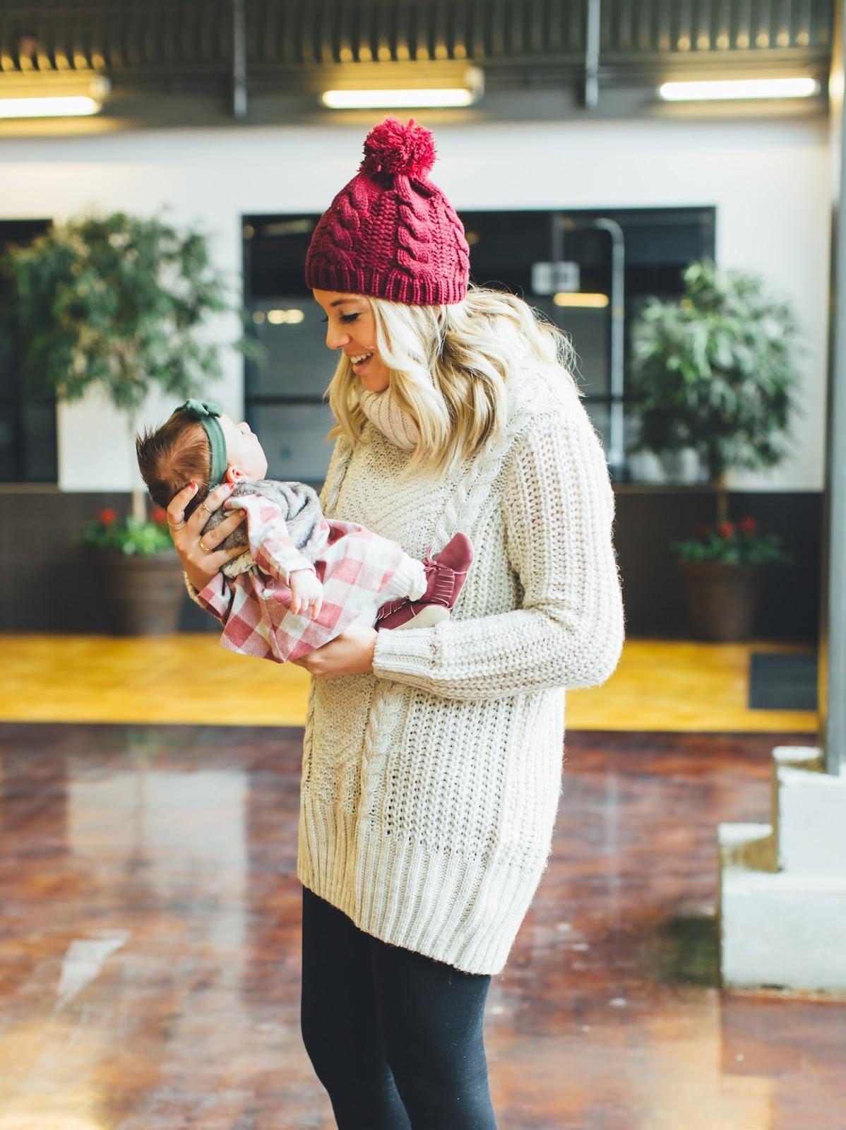 Utah Fashion Blogger, Mommy & Me Style, Winter Style