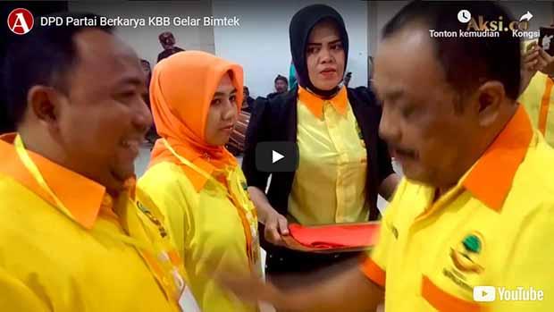 DPD Partai Berkarya KBB Gelar Bimtek