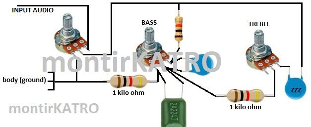 Tone Control sederhana tapi mampu menghasilkan audio HiFi | guruKATRO