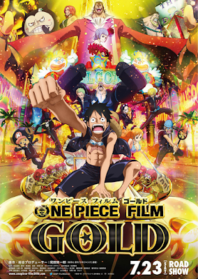 One Piece Gold (2016) Subtitle Indonesia 1080p [Google Drive]