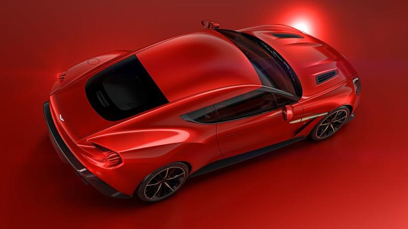 Aston Martin Vanquish Zagato 8