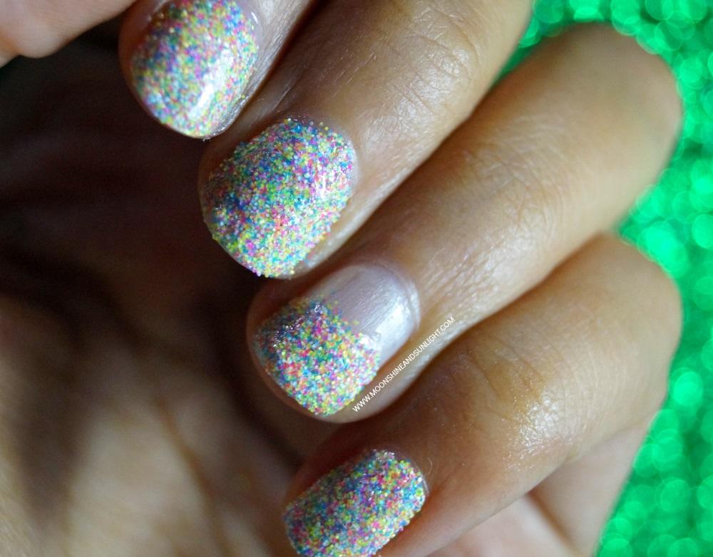 Indian Nail art blog , born pretty store sugar candy powder