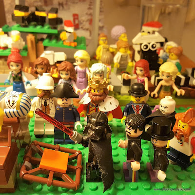 LEGO 12 Days Of Christmas 10 lords leaping rare minifigs