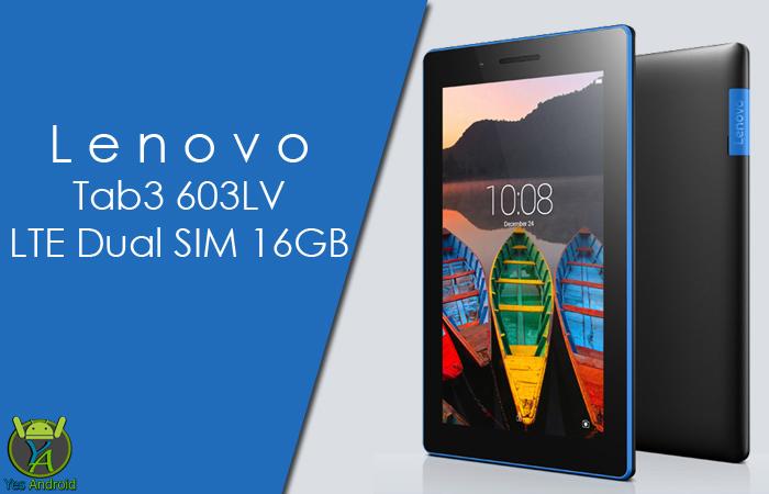 Lenovo Tab3 603LV LTE Dual SIM 16GB Full Specs Datasheet