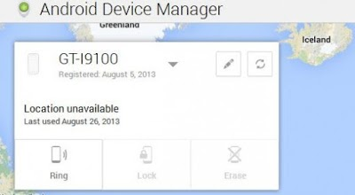 Android Device Manager Unavailable
