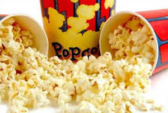 Nutritional contents of popcorn