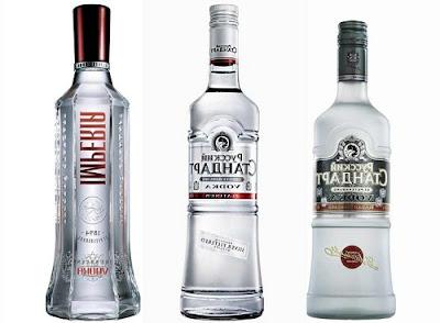 mỗi loại vodka là một câu chuyện