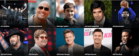 World's highest paid entertainers