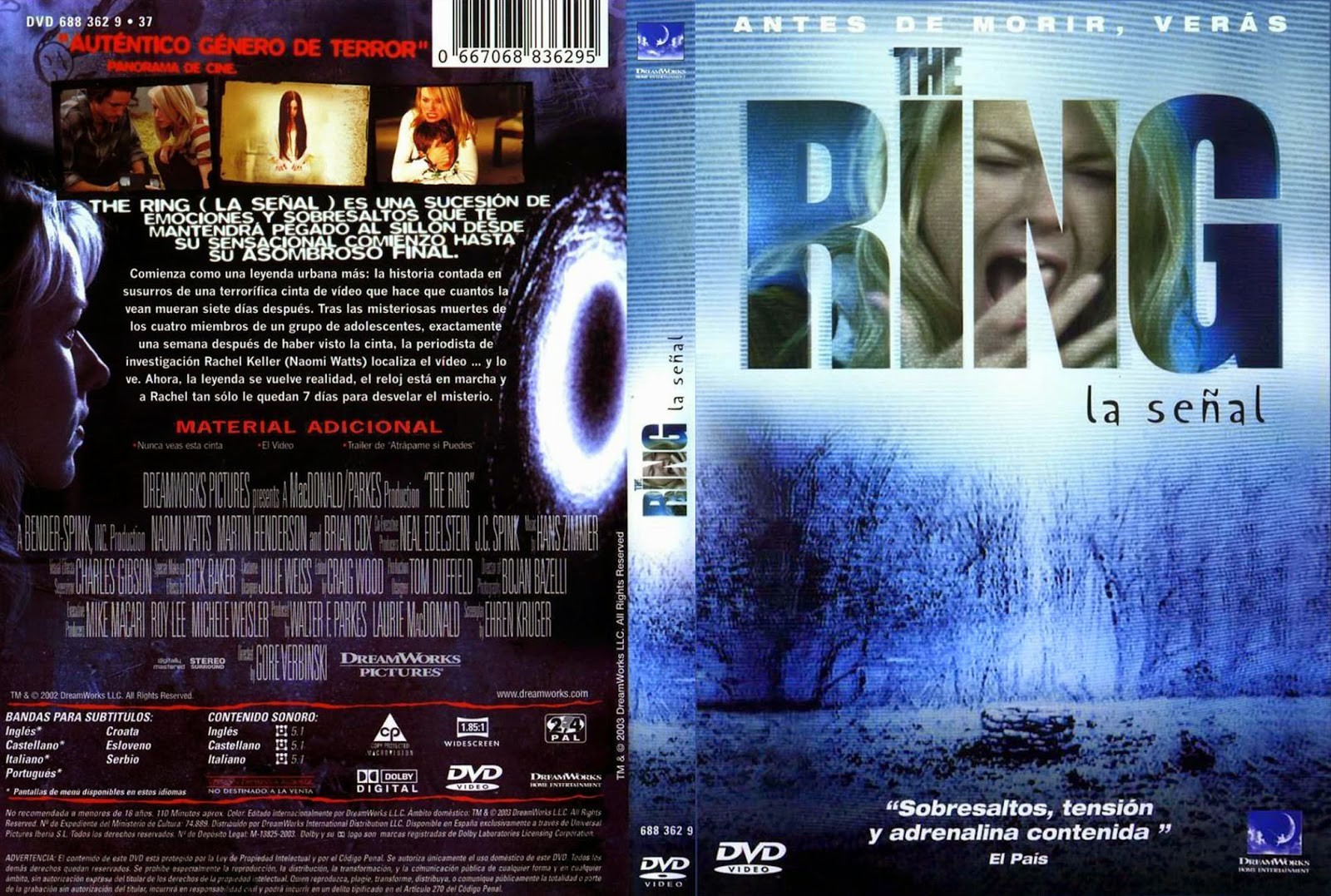 La Llamada. The Ring.