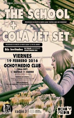 Cola Jet Set  the School Concierto Ochoymedio
