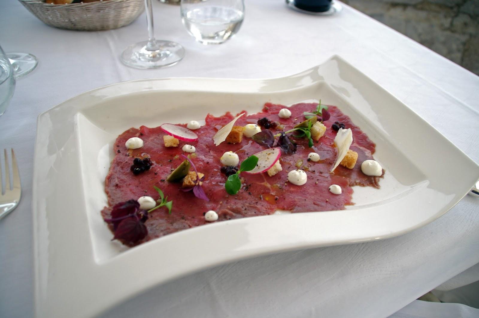 Carpacio Nautika Restaurant Dubrovnik