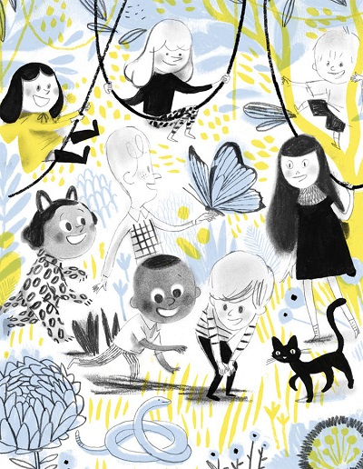Ilustraciones de Isabelle Arsenault | illustration art drawing, imagenes bonitas, lindas, chidas, felicidad, infancia, cool stuff.