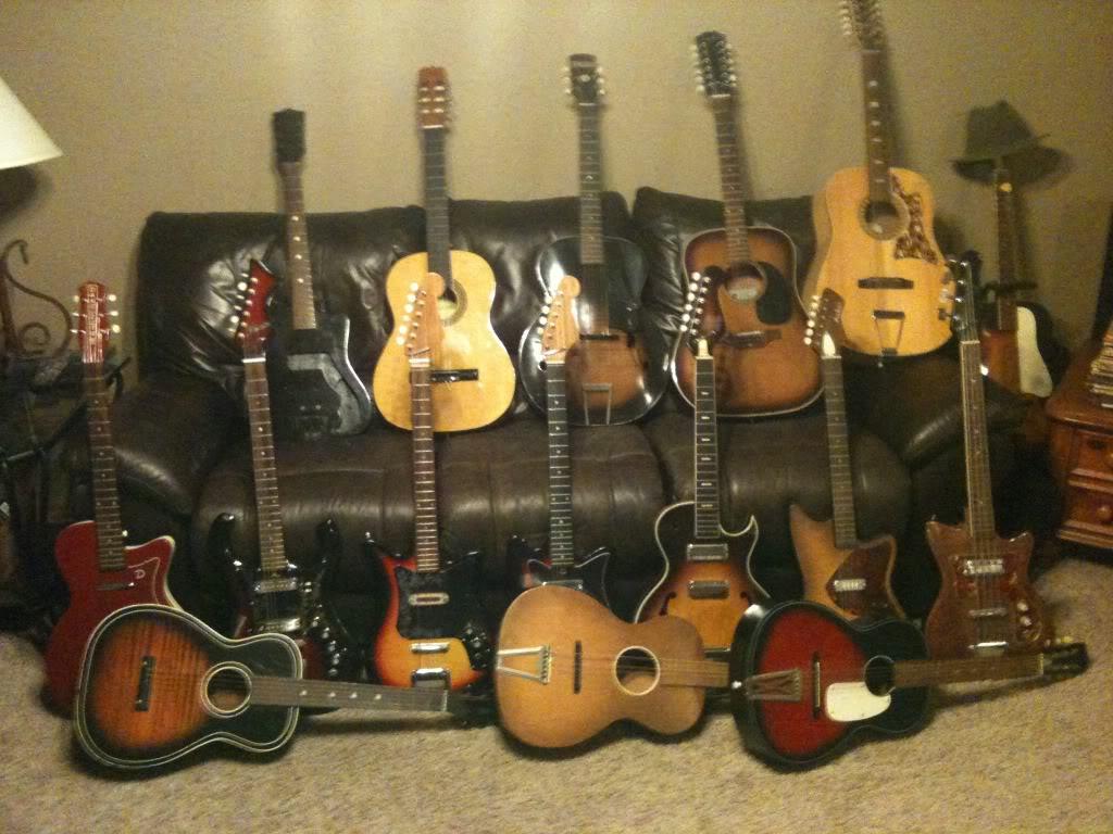 dating norman guitars